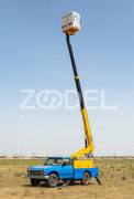 Hydraulic Hoist (Telescopic) - With Fiberglass Basket - Model: TL120 - Lajvar Company