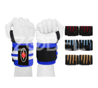Powerlifting, Weight Lifting, Gym Training - Heavy Duty Wrist Wraps