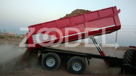 Trailers and tow trucks of 2 to 15 tons (in cooperation) Turkish company Kirava