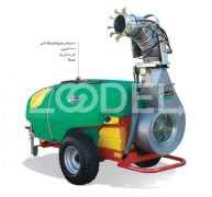 2000 liters turbocharger telescopic sprayer Beta Beta model, industry and agriculture development of Sepid East Gold