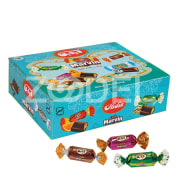 "Center Filled Chocolate in Different Flavors - 1000 g Package - Aidin Brand ""Marvin"""