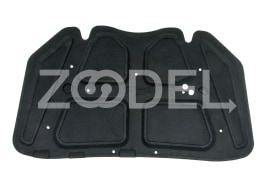 Engine Hood Insulation - Felted, Car Paint Protector Against Heat - Prozin Company