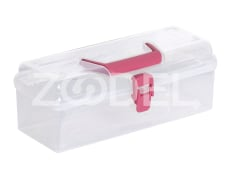 Storage Box - Plastic - Rectangular - With Handle - Limon Brand - Size 2
