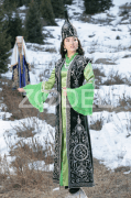 Kazakh National Costume Set