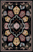 Machine Woven Carpet /Golbon Design