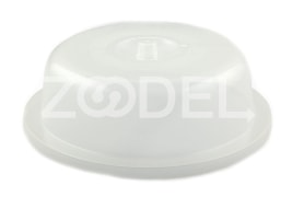 Microwave Plate Cover - Plastic Material - Model: 514 - Yazd Gol Company