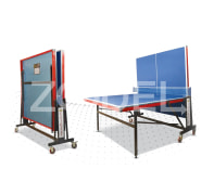 Tennis Table (Ping Pong) - Four Wheeled, Neopan Material, Model TT1 - Faraz Sport
