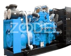 GAS GENERATOR SET 500KW CUMMINS K38 38L (NATURAL GAS, LPG, BIOGAS, BIOMASS)