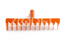 12 teeth Rake (Orange)