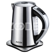 Aicok Electric Kettle, Precise Temperature Control Hot Water Kettle, Stainless Steel Kettle, 1.7 Liter Kettle