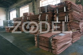 M00k grade cathode copper