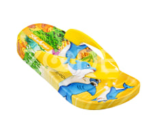 Slippers - EVA material, various colors, size 30-35 - Model Rainbow (Dolphin) Code 84200