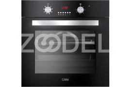 "Electric Oven - Built In, 59 Liter, With Double Glazed Glass & Timer, Maximum Temperature of 250°C - Model: TC361 - ""Can"" Brand"