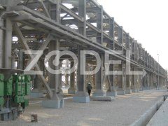Fireproof coating of cement base of Isolatek oil and gas