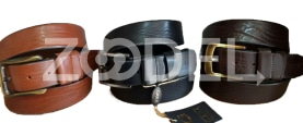 Genuine Cow Leather Belt For Men - Code : 4000M2 Milling - Gara Company