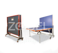 Tennis Table (Ping Pong) - Four Wheeled, MDF Material, Model TT4 - Faraz Sport