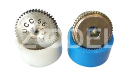 Couplings ucc in various sizes, iron and steel, commercial desks
