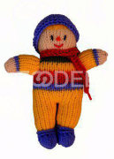 knitted doll (small size)