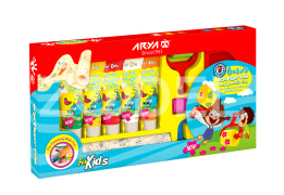 Finger Paint With Paint Roller - 6 Colors - Arya Company - 7021