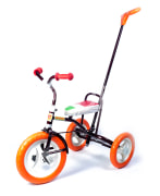 "Kids tricycle ""Baldyrgan"" with push handle"