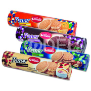 "Sandwich Biscuit in Different Flavors - 110 g Package - Aidin Brand ""Paner"""