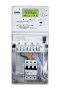 "Electricity Meter - Digital - Multi Tariff - Static - With Box And Fuse - Three Phase - Company ""Electronic Afzar Azma"" - Model JAM300"