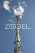 Telecommunication Tower - Galvanized - ST37 Steel - Ruein Saz Arak