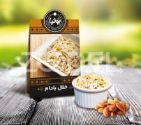 Almond Slice - 20 Gr Box Packaging - Bootia Brand