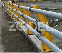 Bridge Railing - ST37 Steel With Double Paint Coat - Ruein Saz Arak