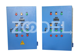 "Electrical Switchboard For Refrigeration Units - PLC Or Analog - With SMS Sending Capability - Company ""Gostaresh Broudat Zagros"""