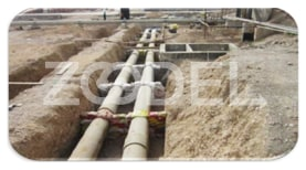 AG and UG piping operations in all refinery areas