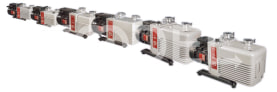 Double Stage Rotary Vane Vacuum Pumps