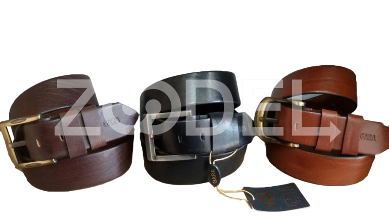 Genuine Cow Leather Belt For Men Code 4500M0 Gara Company