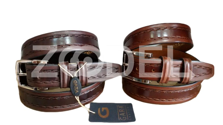 Genuine Cow Leather Belt For Men Code 39 Gara Company
