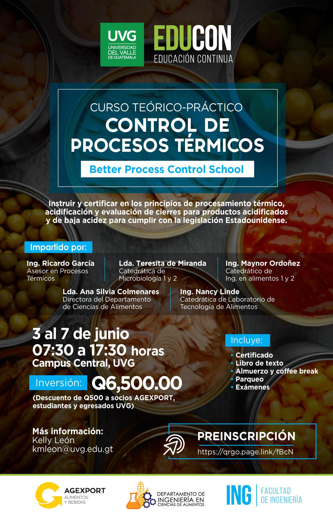 CONTROL DE PROCESOS TÉRMICOS