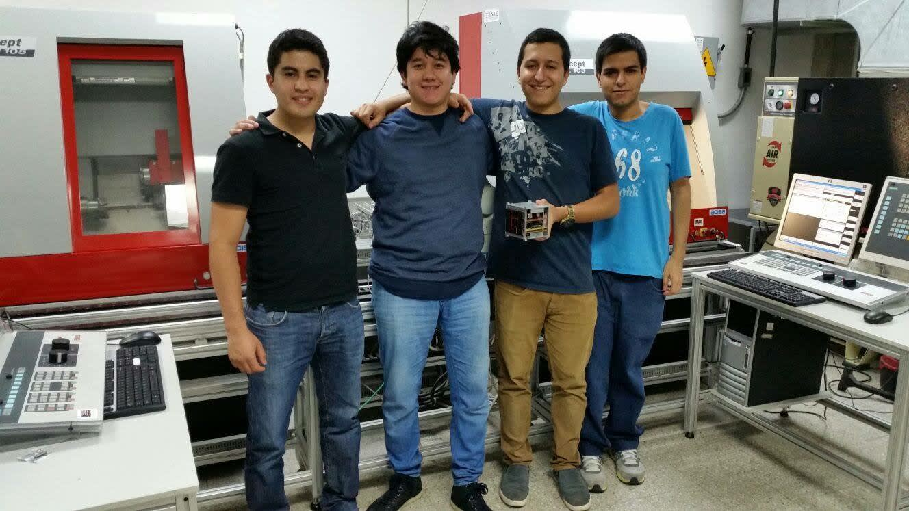 Phase 2 Team Cubesat - UVG