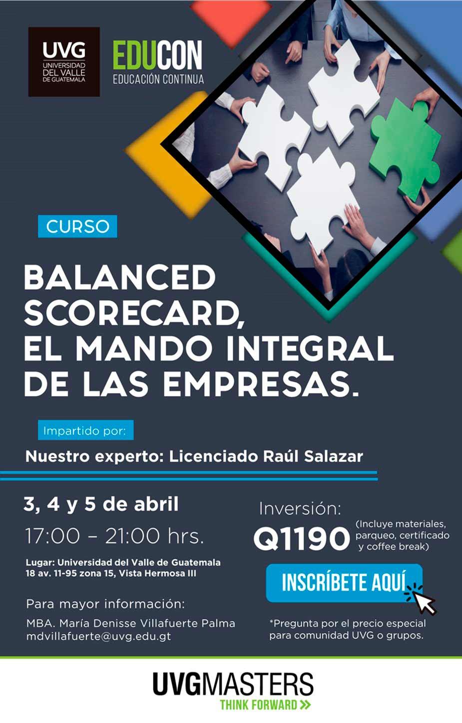 BALANCED SCORECARD, EL MANDO INTEGRAL DE LAS EMPRESAS