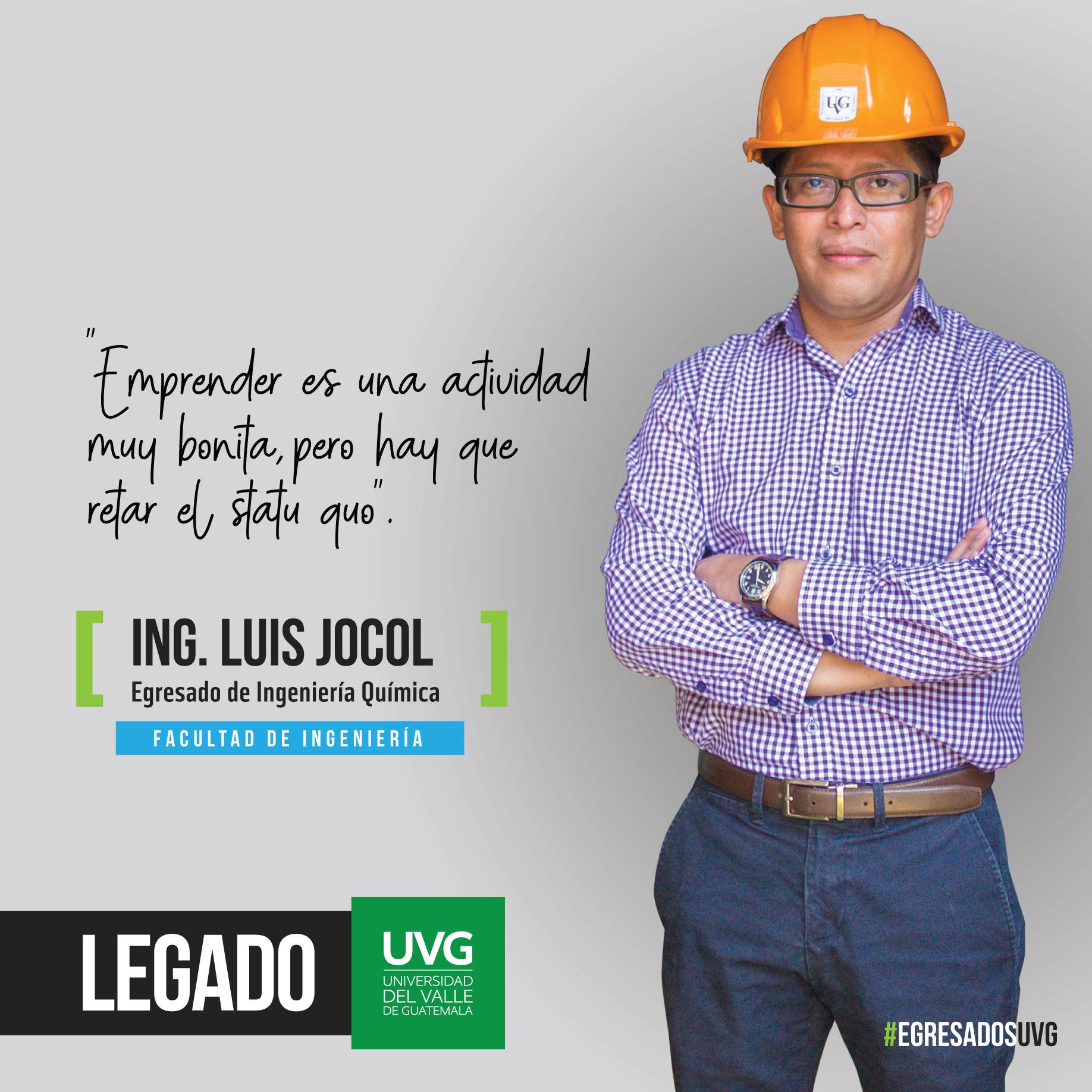 Legado UVG Ing. Luis Jocol