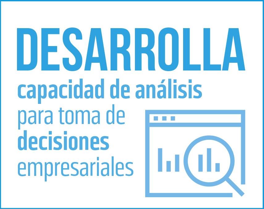 Banner sobre desarrollo de la capacidad de análisis