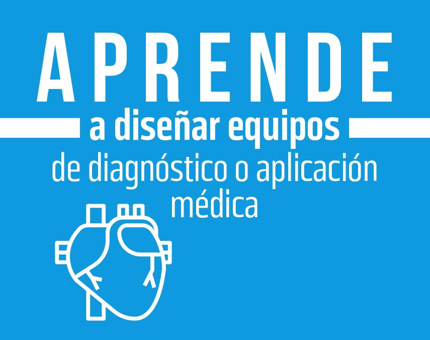 Banner sobre diseño de equipo de diagnóstico