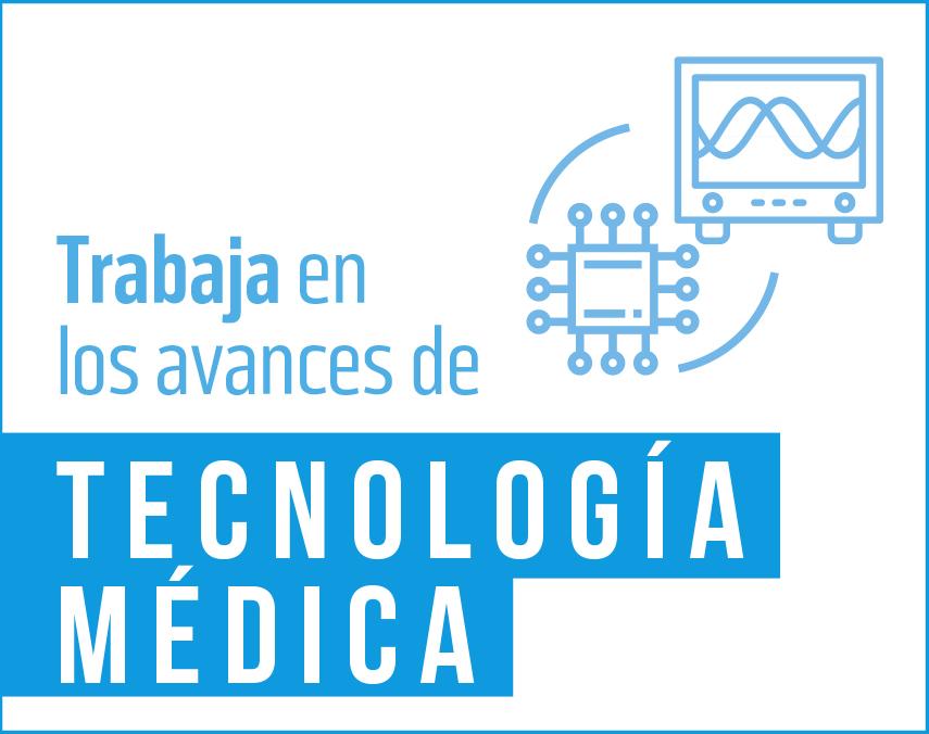 Banner sobre avances de tecnología médica
