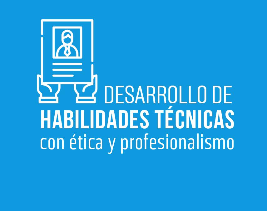 Banner sobre desarrollo de habilidades técnicas