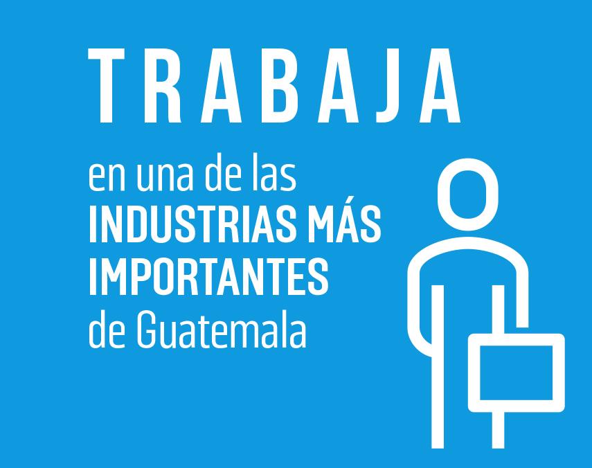 Banner sobre trabajo en una de las industrias más importantes