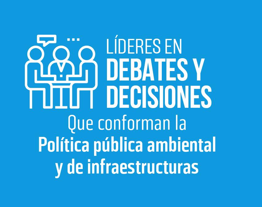 Banner sobre líderes en debates y decisiones