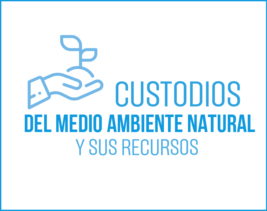 Banner sobre custodios del medio ambiente