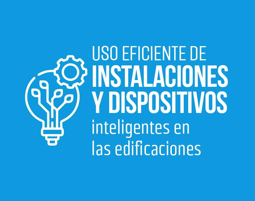 Banner sobre uso eficiente de instalaciones