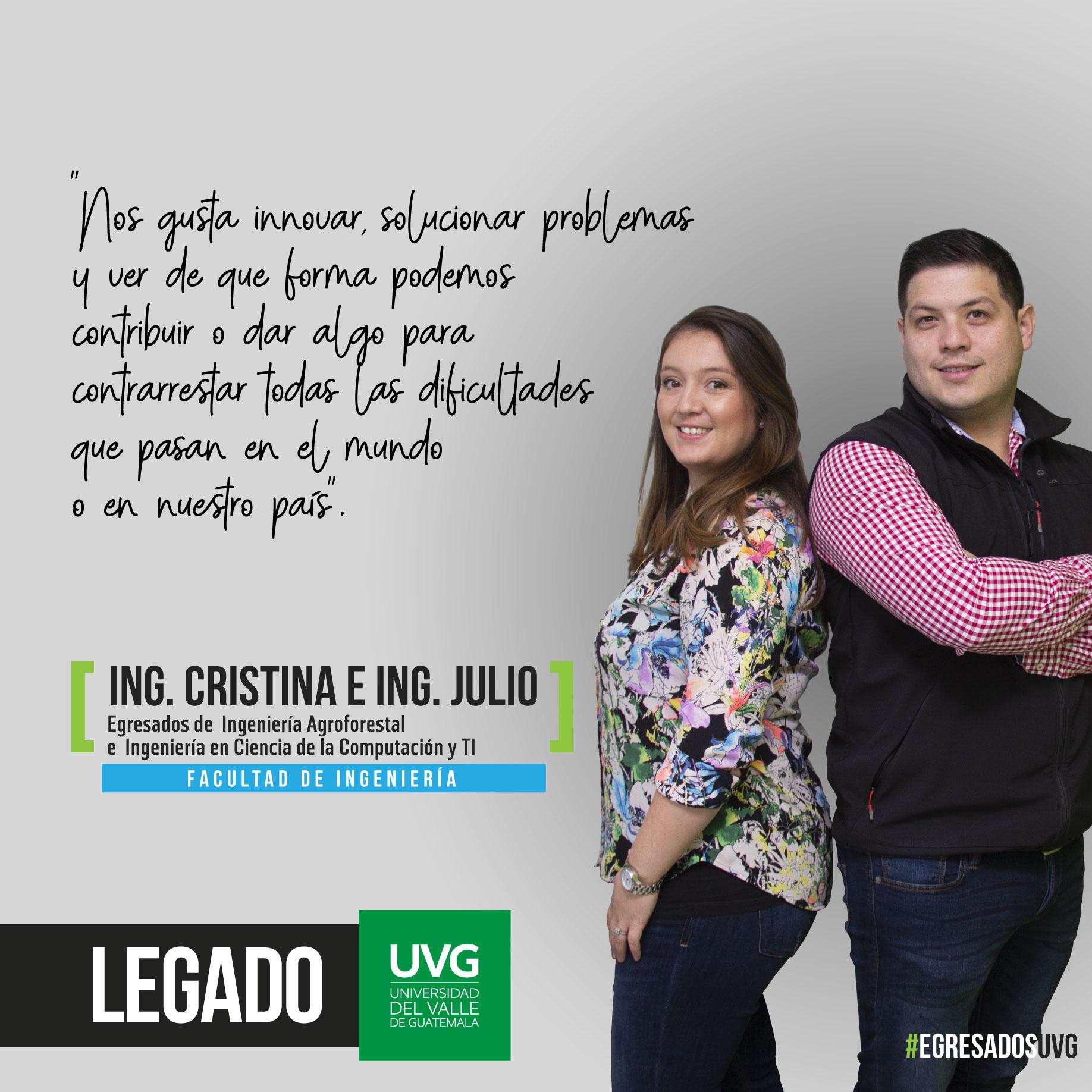 Legado UVG Ing. Cristina e Ing. Julio