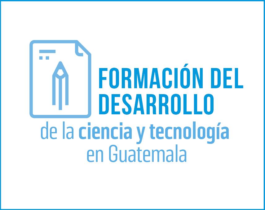 Banner sobre formación del desarrollo de la ciencia y tecnología