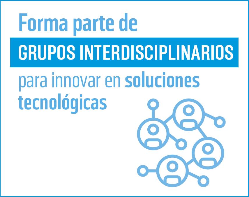 Banner sobre grupos interdisciplinarios