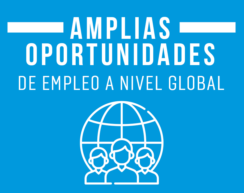 Banner sobre amplias oportunidades de trabajo